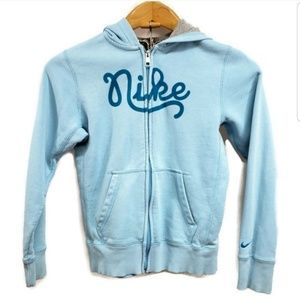 Girl's Nike Hoodie Full Zip Child's Medium